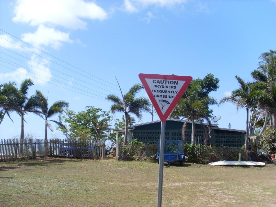 Caution Mission Beach