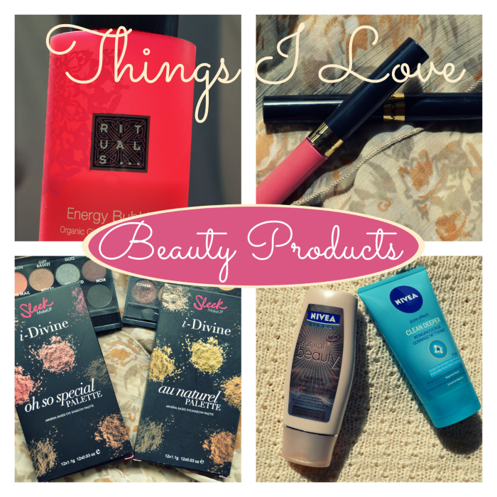 Things I Love | Beauty Producten