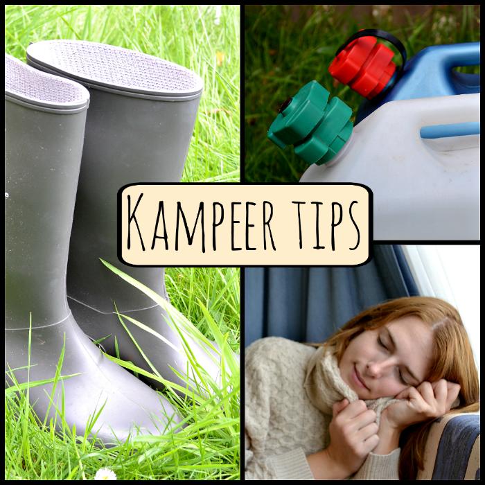 Kampeer tips voor een onervaren kampeerder