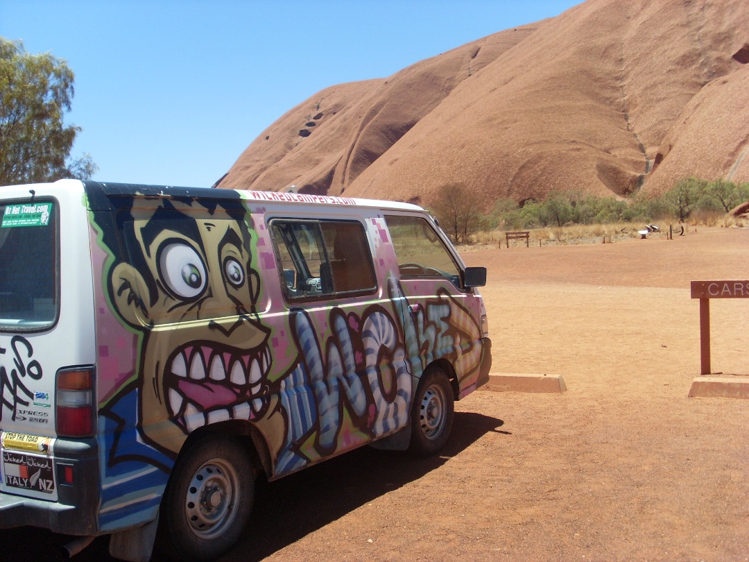 Met de campervan reizen door Australië