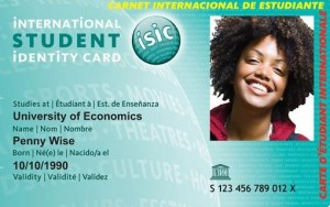 ISIC kaart