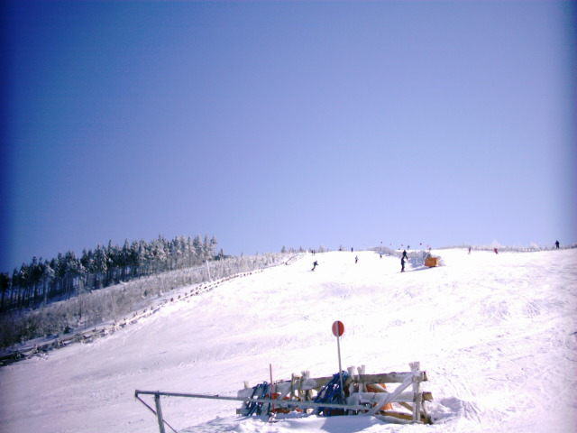 Wintersport in Harrachov Tsjechië