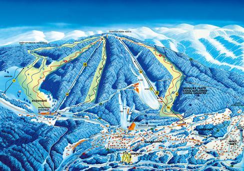 Ski kaart