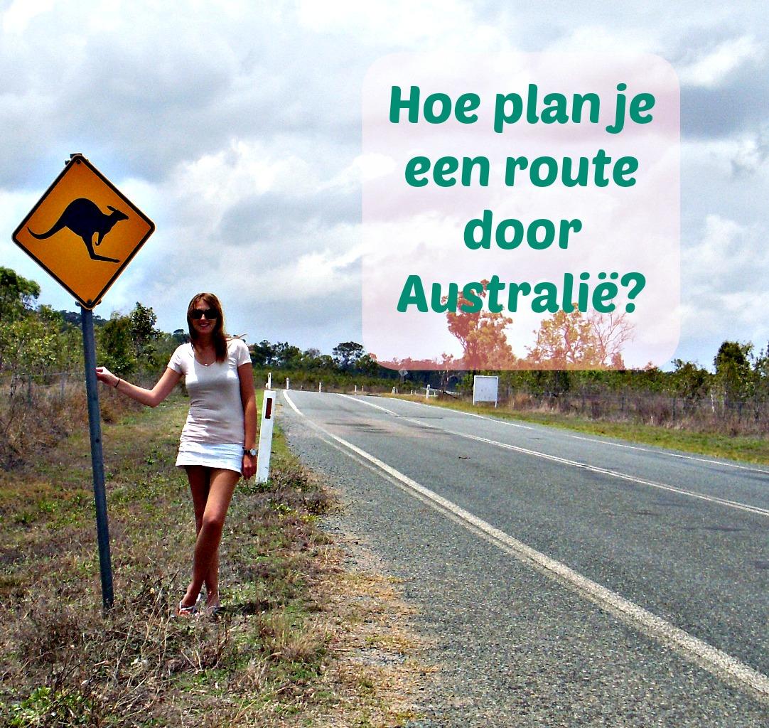 Route door Australië