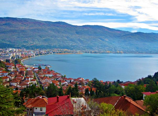 Ohrid meer Macedonië (snipview.com)