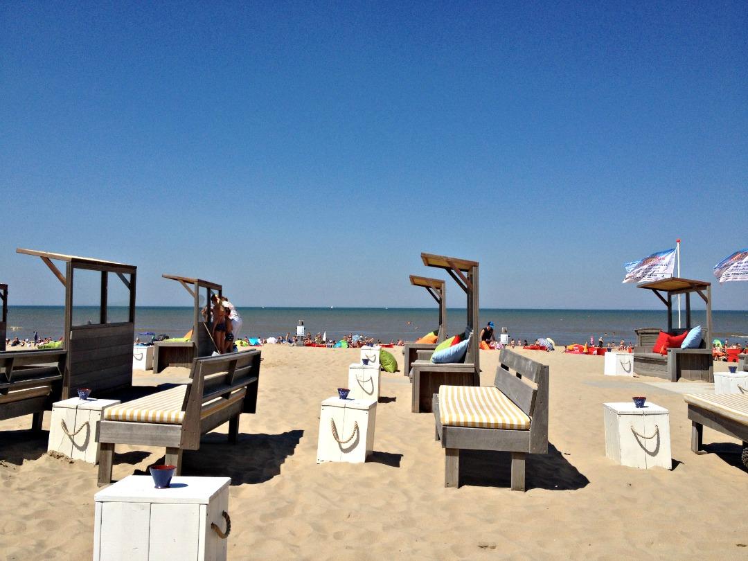 Strand Noordwijk aan Zee (juli 2014)