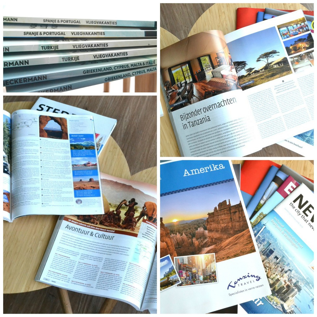 Collage brochures
